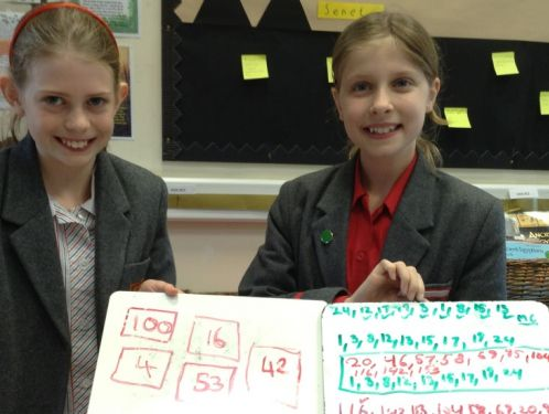 Year 6 improve their flexibility in maths
