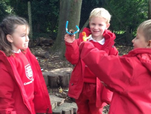 Year 2 enjoy exploring Great Missenden