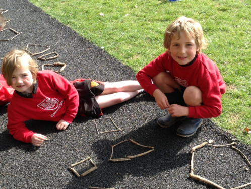 Year 2 - Stick polygons and investigative skills