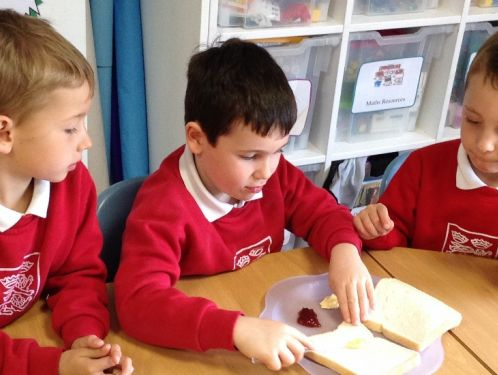 Year 1 - How do you make a jam sandwich?