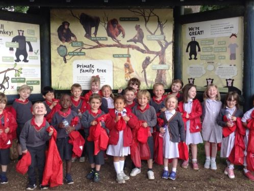 Reception enjoy a great day out at Whipsnade Zoo