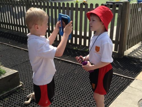 Reception investigate outdoors using technology