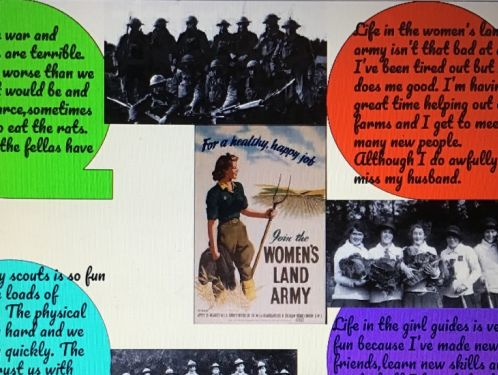 Year 6 discover the events that led up to the World War One