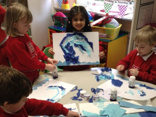 Reception learn a lot from a single painting