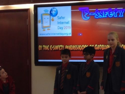 Year 5 learn about E-Safety