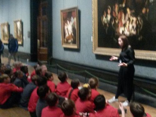 Year 6 see 'Men of the Docks' painting at the National Gallery