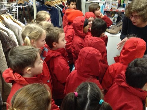 Year 1 visit our local Barnardo's charity shop