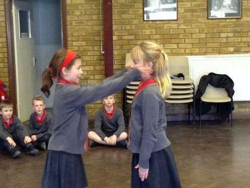Year 4 bring machines to life in drama