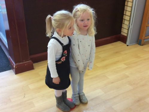 Preschool reflect on a busy first half of term