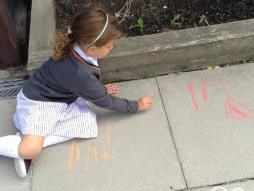 Reception take first steps to become independent learners