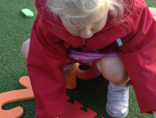 Preschool children have a busy start to the term