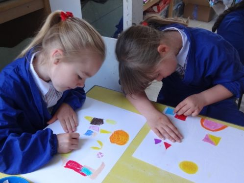 Year 3 study the painting 'Castle and Sun'