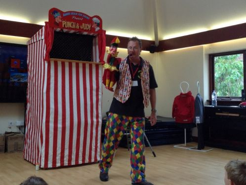 Year 2 have a visit from Punch and Judy