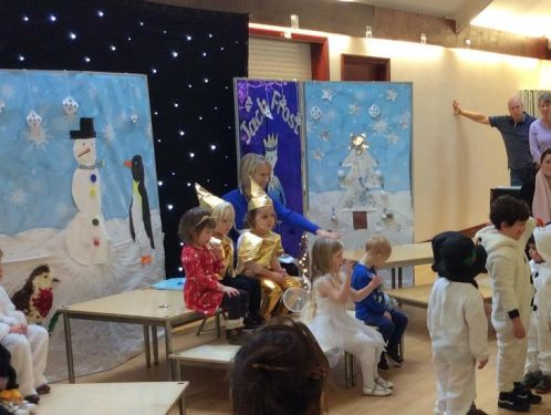 Preschool perform a dazzling display of dance routines