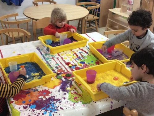 Preschool welcomes new children and their families