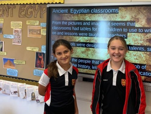 Year 5 study the wonders of Ancient Egypt