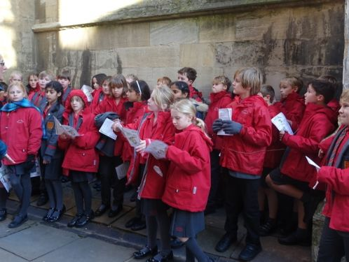 Year 5 enjoy an inspirational day in Oxford