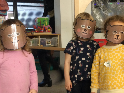 Preschool - Goldilocks maths, habitats and Thanksgiving