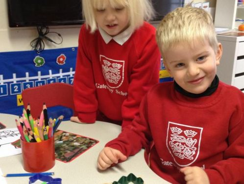 Reception - Father Christmas and the importance of giving