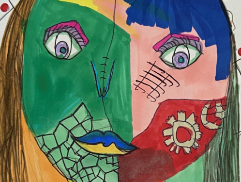 Year 6 - exploring Cubist art