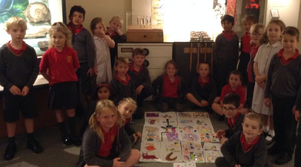 Year 2 enjoy a whizzpopping time at Aylesbury Museum