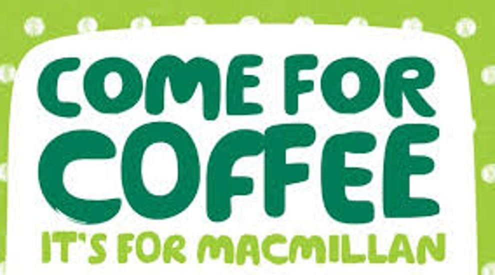 MacMillan Coffee Morning Friday 27 September