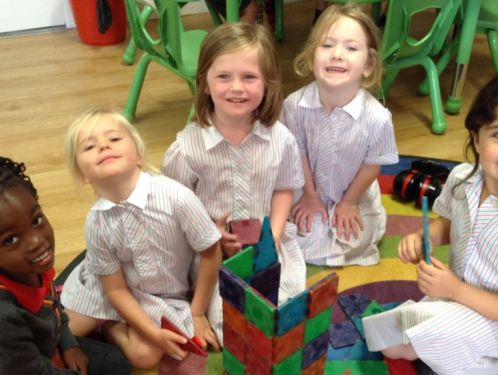 Reception children enjoy first full week in 'big school'!