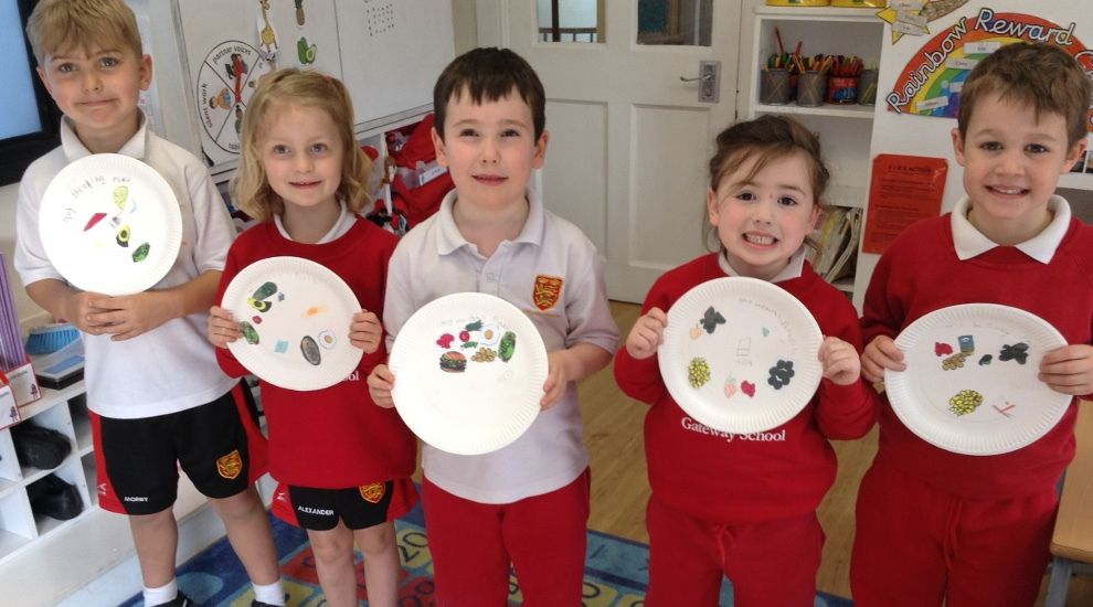 Year 1 focus on healthy eating
