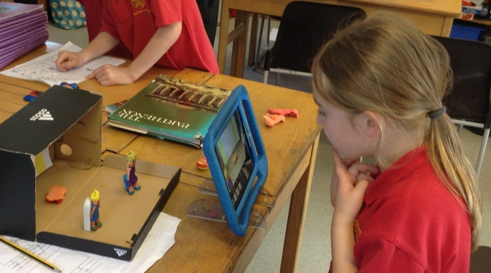 Year 3 create animations about their favourite Greek myths