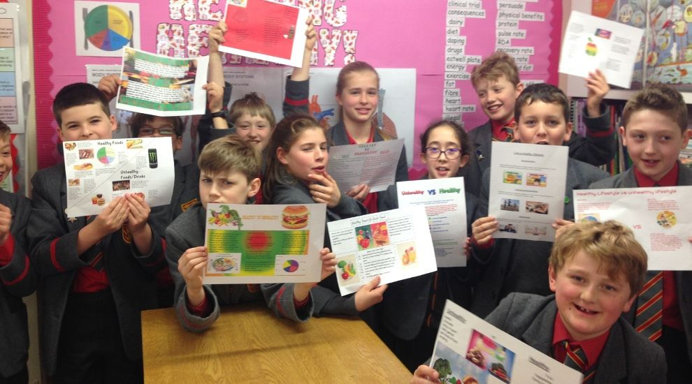 Year 6 share their advice about Keeping Healthy