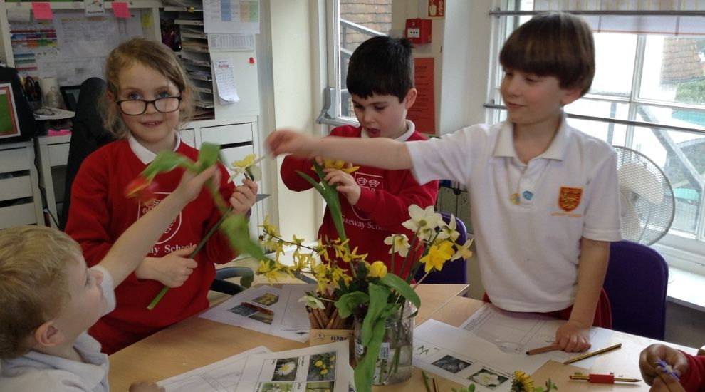 Year 1 think about Spring and flowers