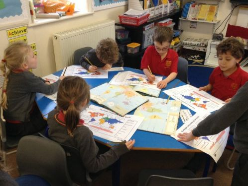 Year 2 search for India on a map of the World
