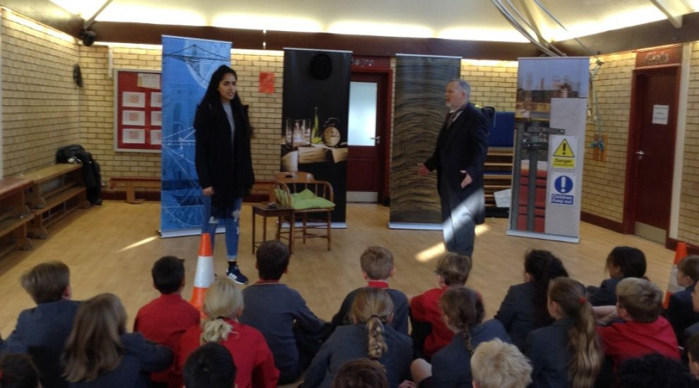 Year 5 and 6 learn life skills through drama workshop