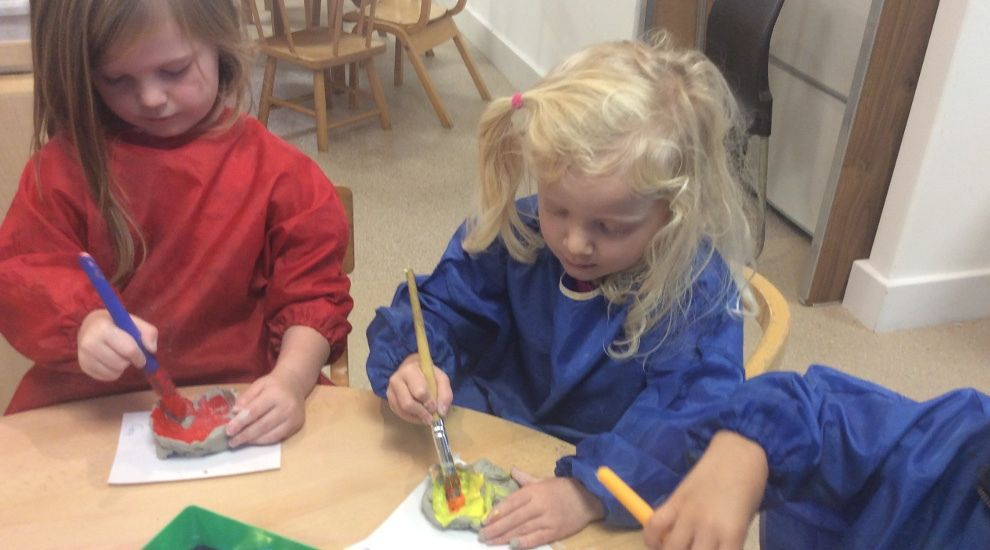 Preschool 'Understand the World' with lots of cooking and creative activities