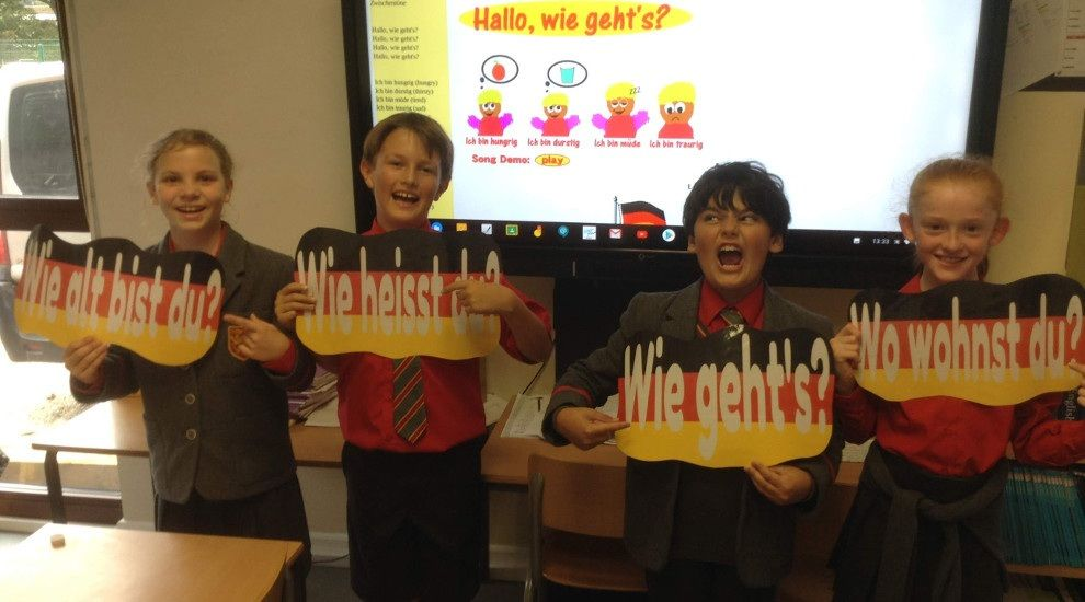 "Year 5 ""go Deutsch"" in MFL lessons!"