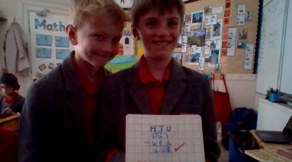 Year 3 focus on column addition and subtraction