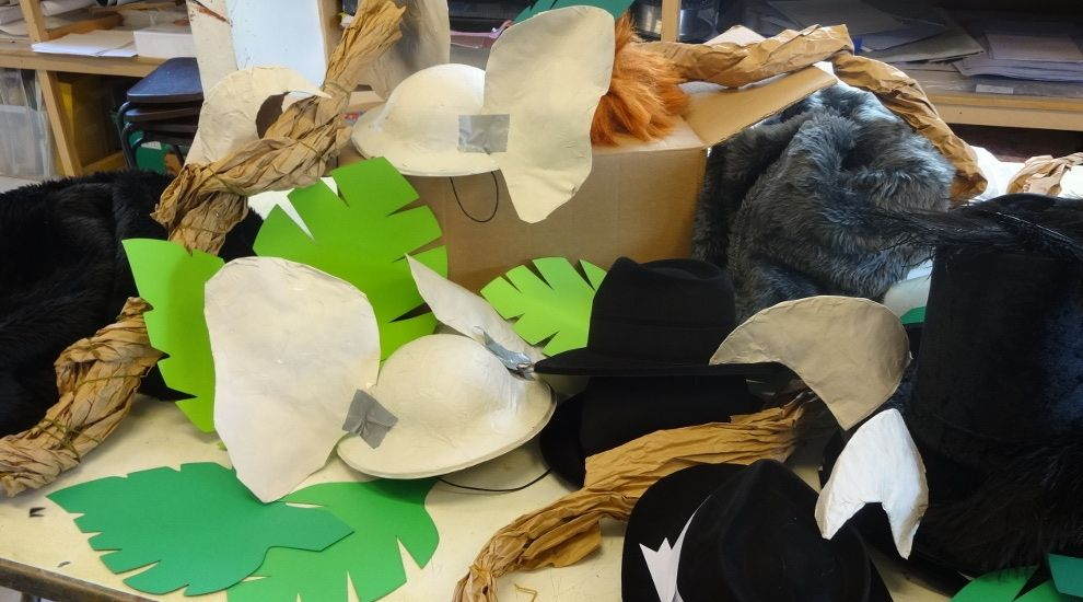 Year 6 make a start on costumes and props