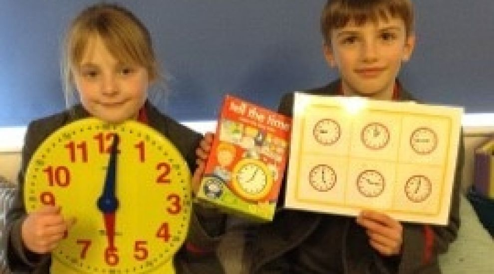 Year 3 learn to tell the time
