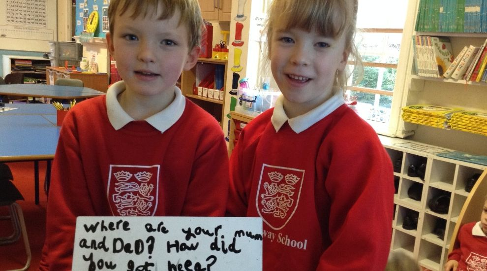 Year 1 children travel to Australia in Topic