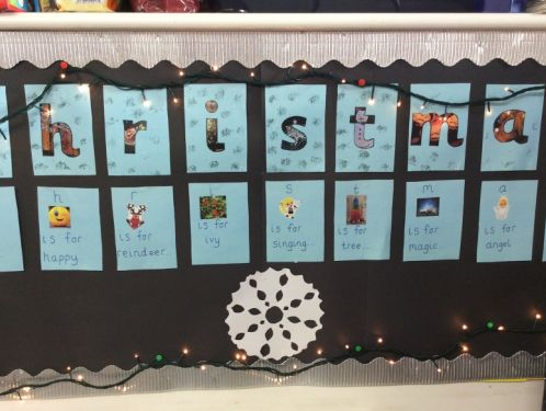Preschool children learn about Advent