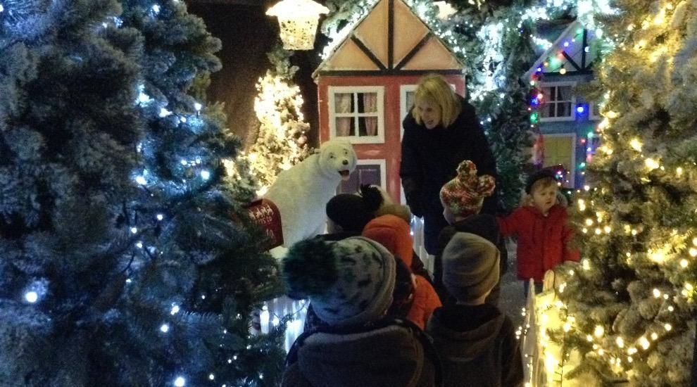 Preschool visit a magical Winter Wonderland