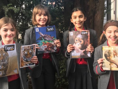 Year 5 children raise funds for WWF and REST