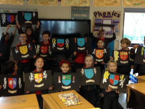 Year 3 create their own coats of arms