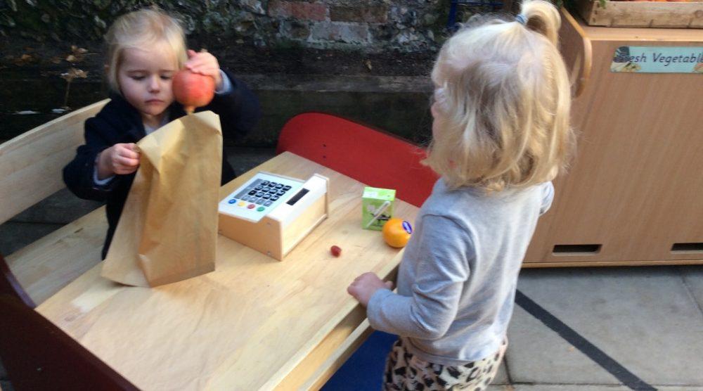 Preschool enjoy role… | Independent Primary School Buckinghamshire