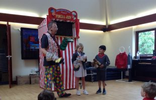 Year 2 punch and judy 4