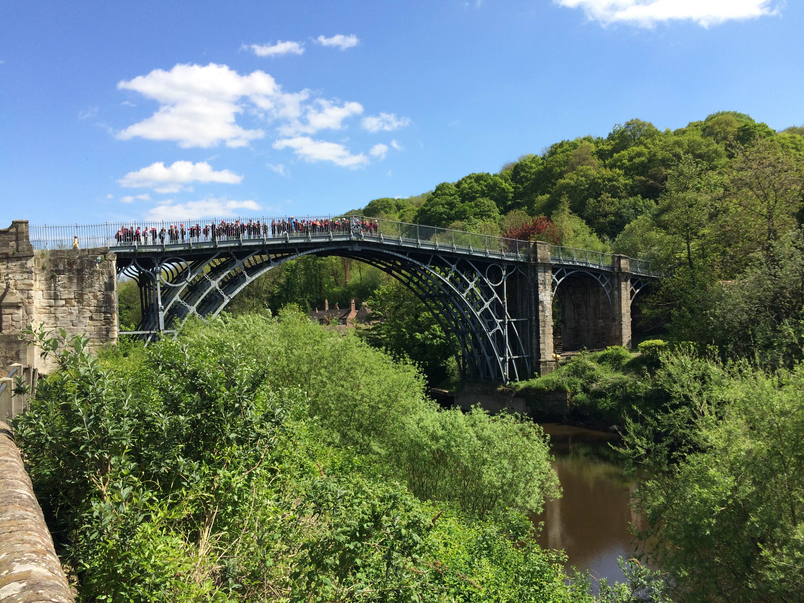 Day 1 On the Ironbridge