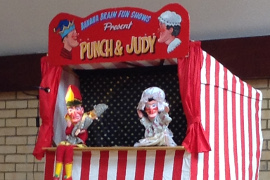 Year 2 - Punch and Judy show